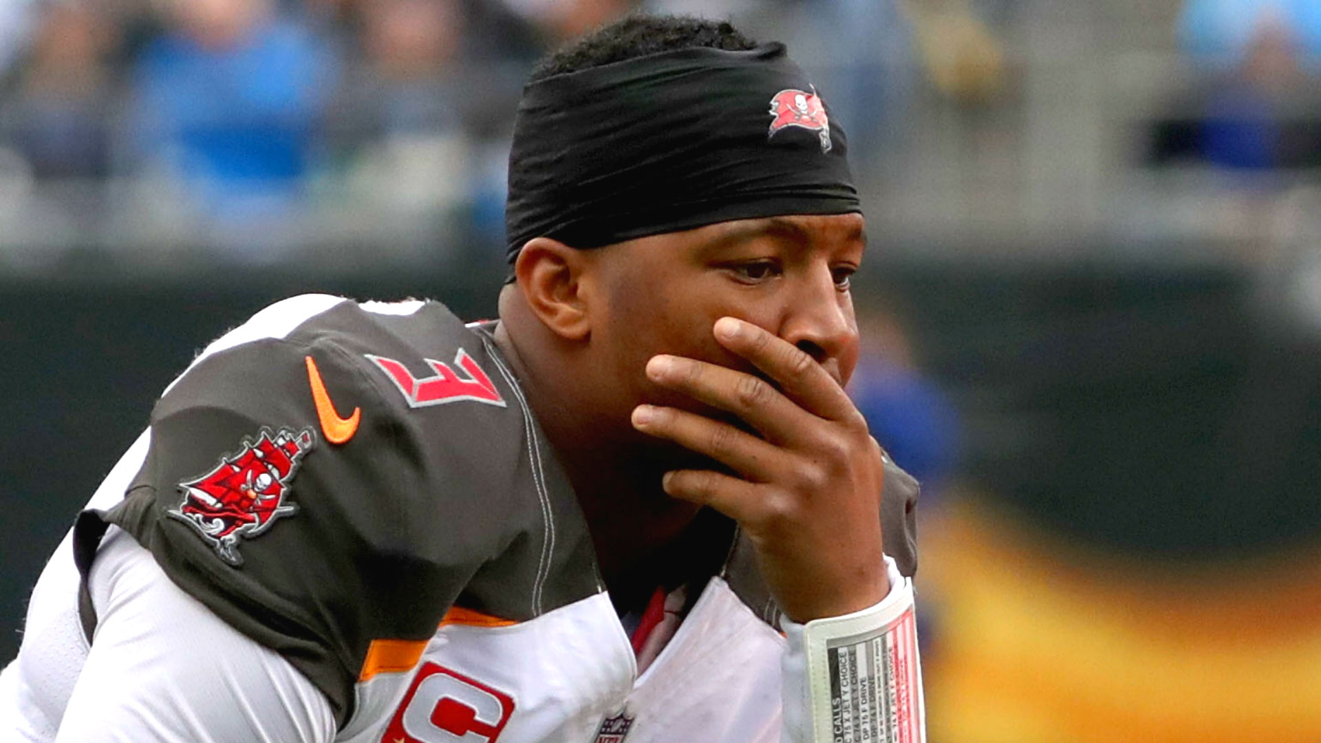 National Football League  suspends Bucs QB Jameis Winston for 3 games