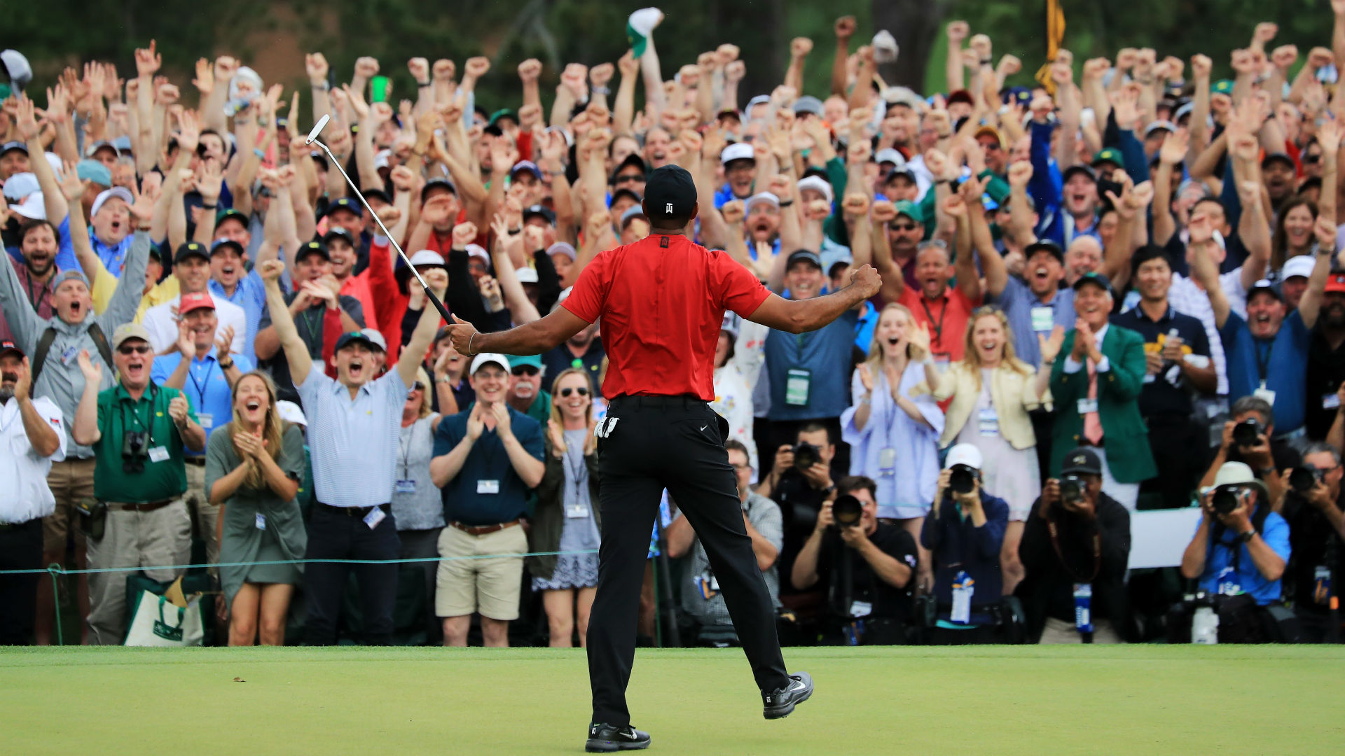 Michael Jordan declares Tiger Woods had 'the greatest comeback I've ever seen'