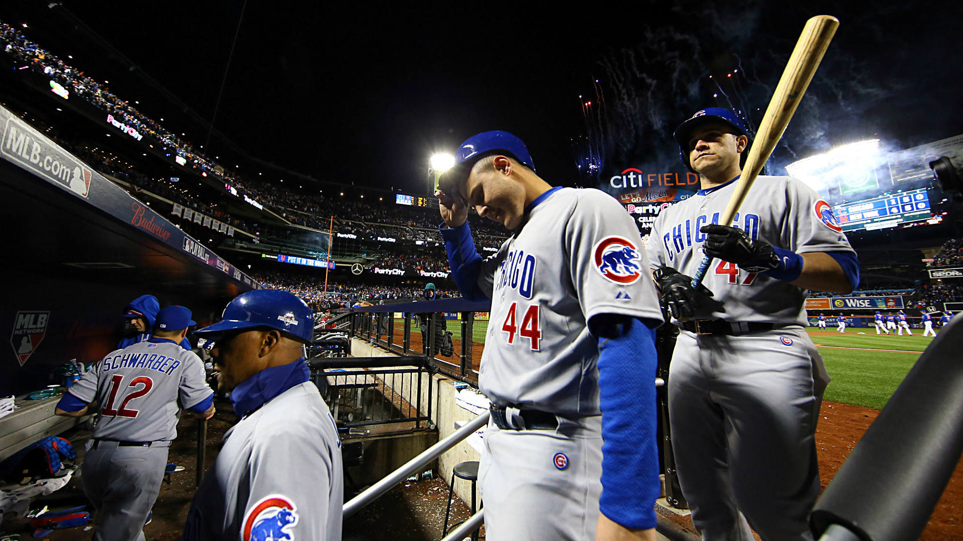 nlcs 2015: joe maddon's 'psychobabble' not likely to help sinking