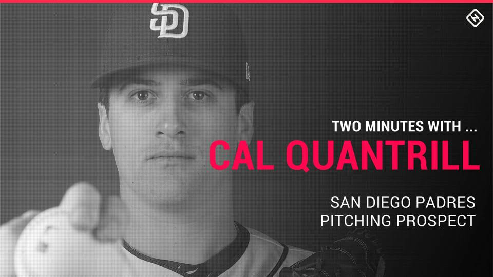 Padres prospect Cal Quantrill on binge-worthy TV, 'Fortnite' and counting cards