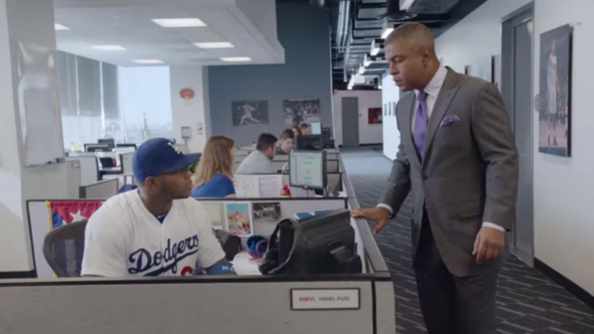 Yasiel Puig shows impact of walk-up music in 'This is SportsCenter' commercial