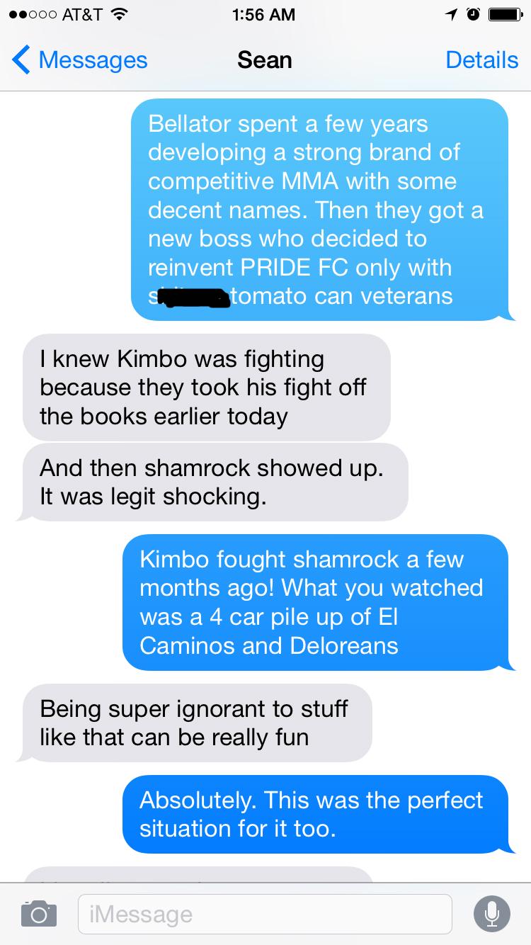 let u0027s talk about how bad kimbo slice vs dada 5000 was mma