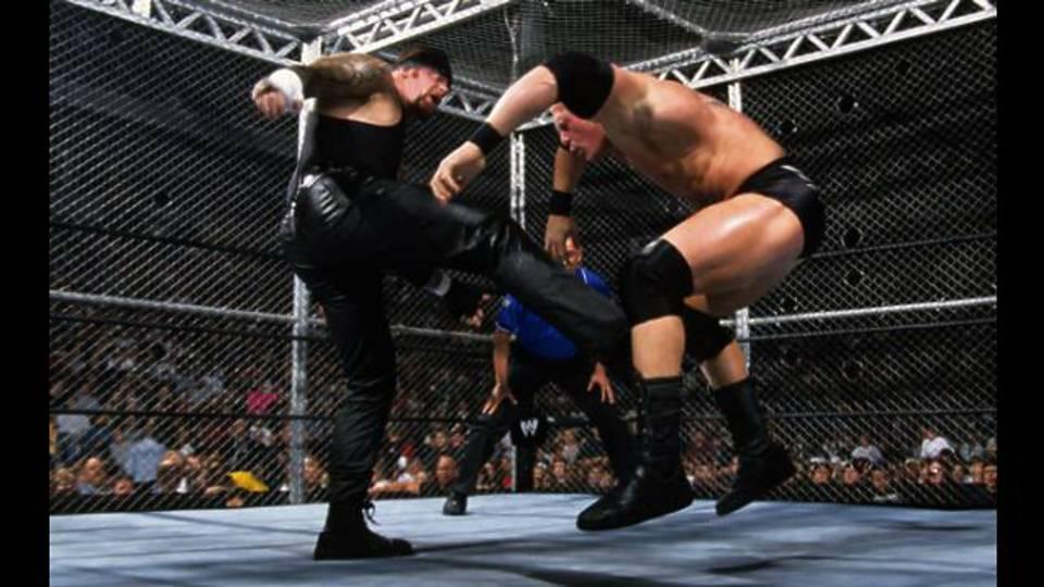 Undertaker Vs Brock Lesnar No Mercy 2002 Wrestling Rewind: Broc...