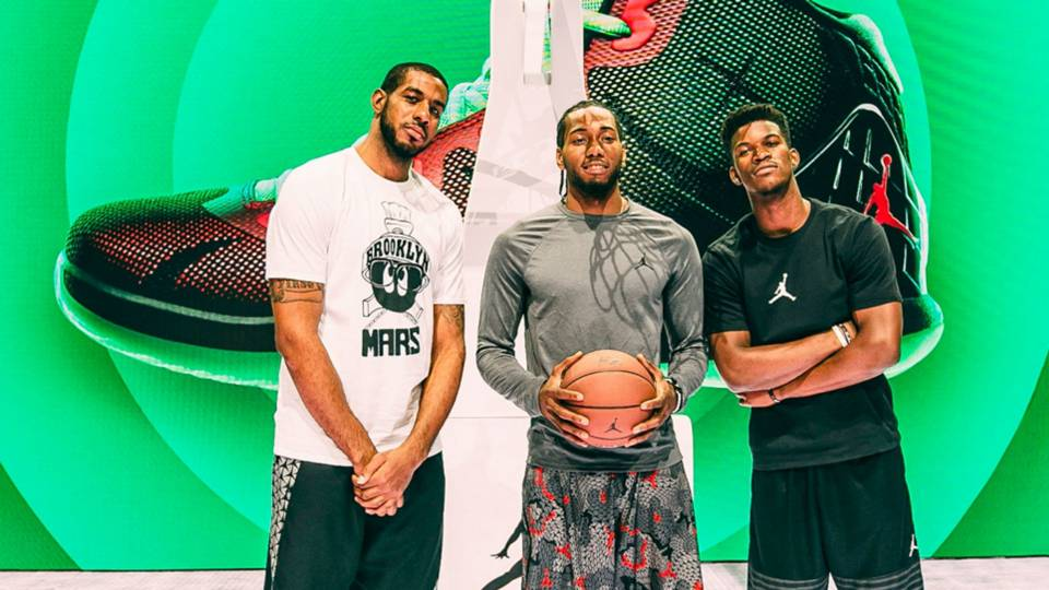 Jordan Brand shows off Super.Fly 4s to next generation of stars ... 783f622faa
