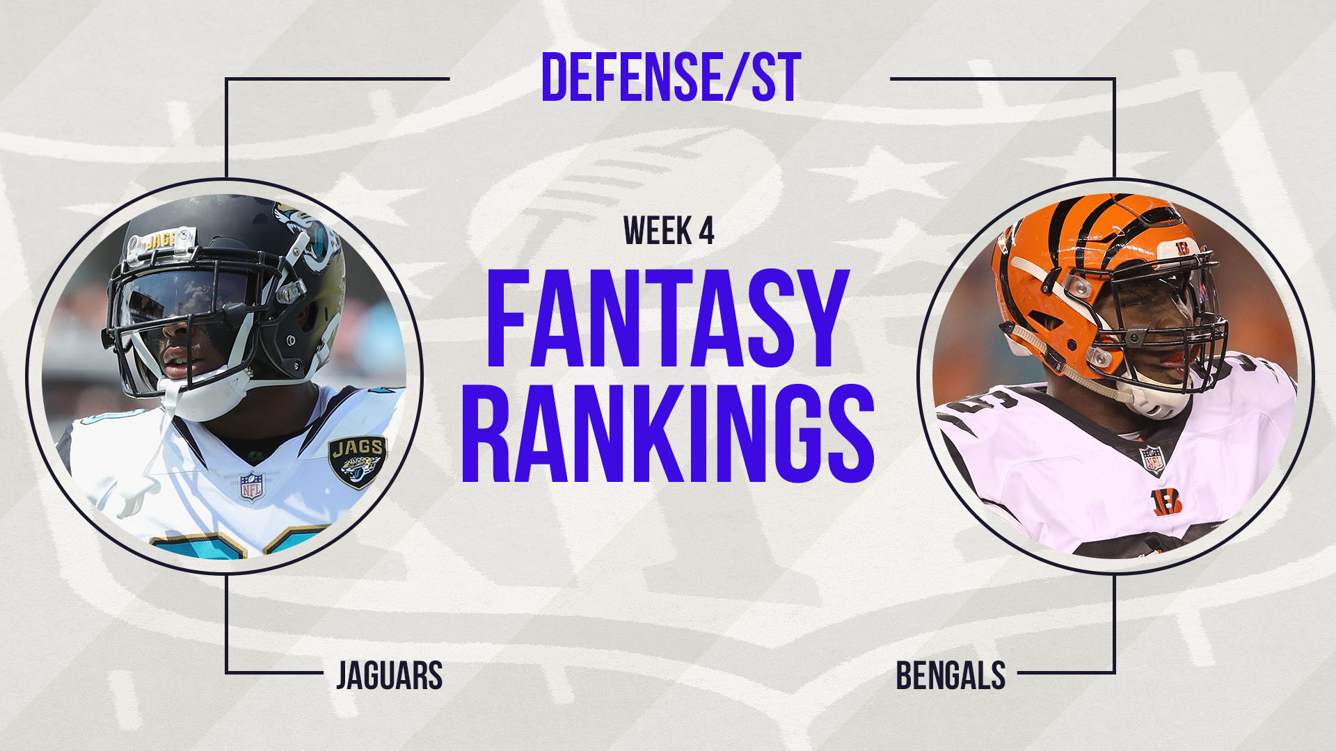 week 3 legal defenses The vikings, chicago bears, houston texans and eagles round out my top five defenses for week 3 if you need help at the position and ideas for streaming options at other spots in your lineup.