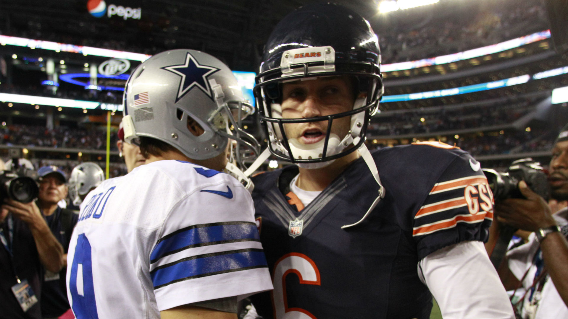 The Decider: Romo vs. Cutler