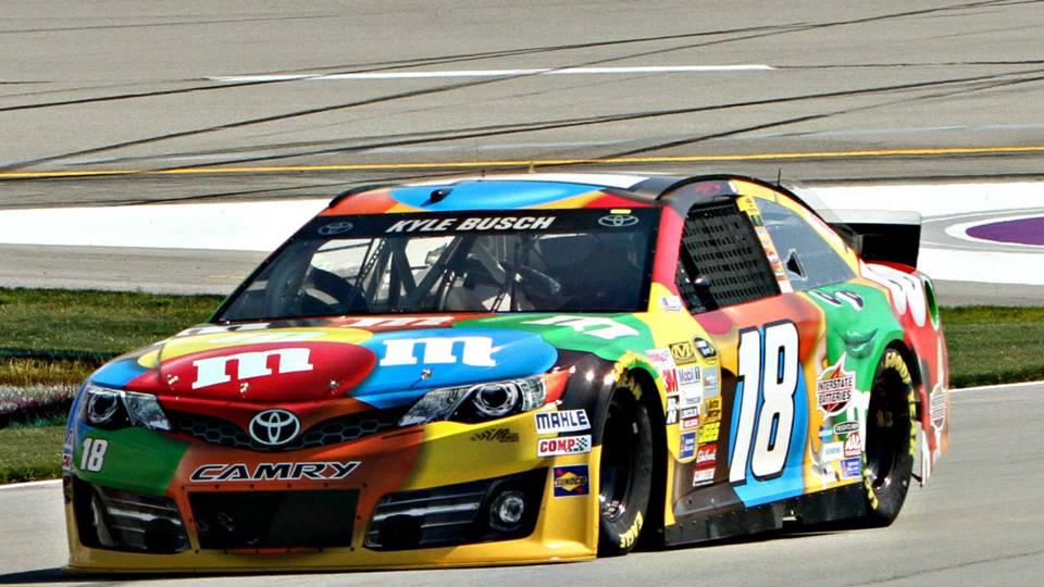Sponsor M&Ms to remain with Kyle Busch, Joe Gibbs Racing | NASCAR ...