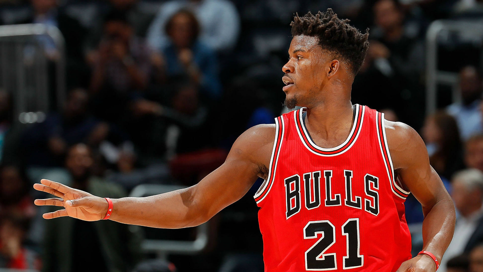 Jimmy Butler gives out phone number to critics during live presser