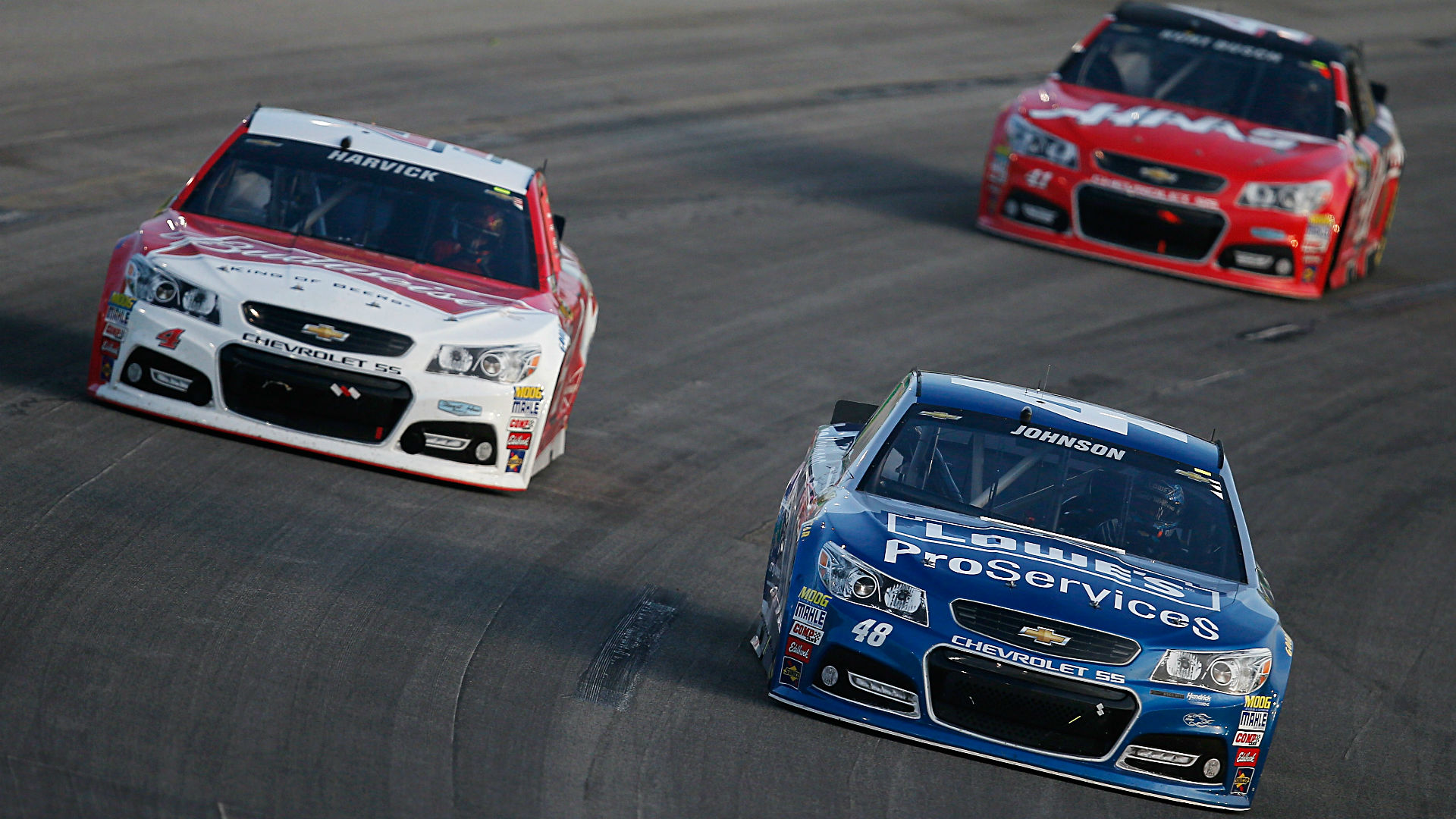 NASCAR odds and betting preview — Chevy dominance at Indy puts Harvick, Johnson on top