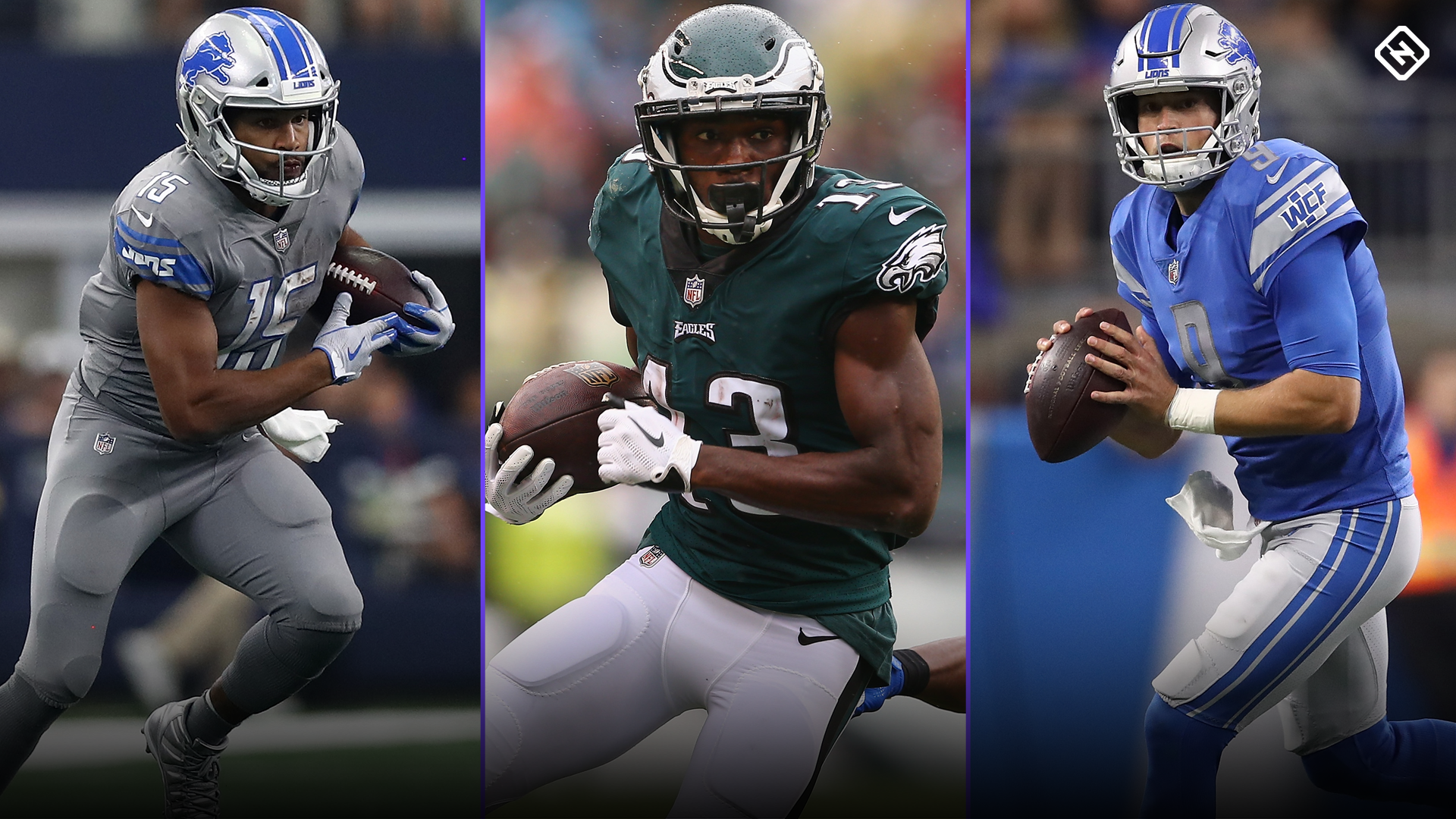 Fantasy Football Updates: Golden Tate trade to the Eagles impacts his fantasy value, Nelson Agholor, Matthew Stafford