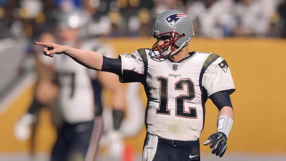 Madden NFL 18 Tom Brady