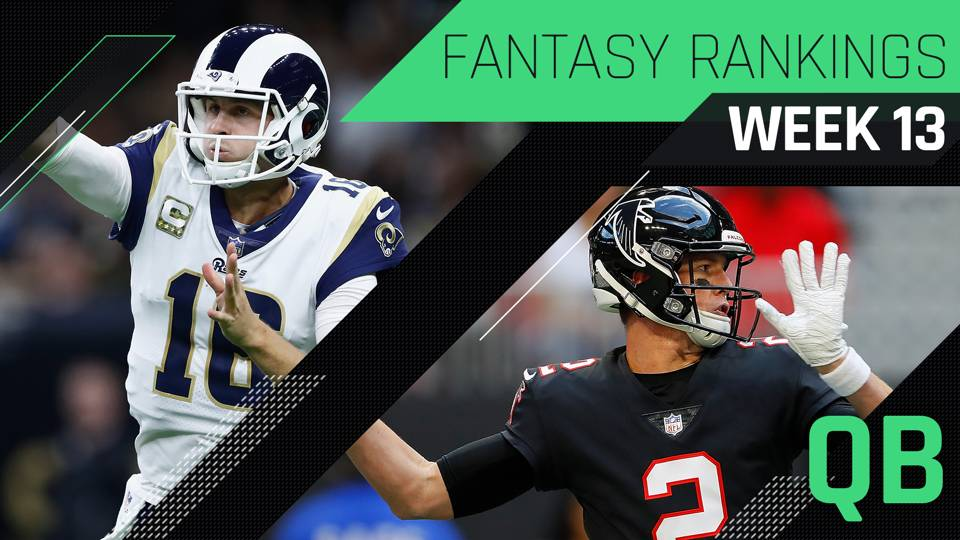 Week 13 Fantasy Rankings: QB | Fantasy | Sporting News