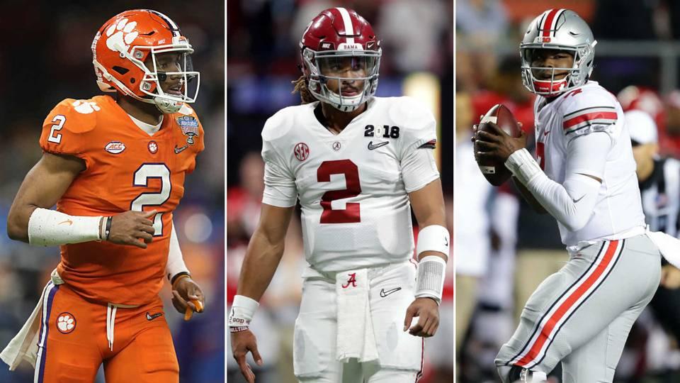 Alabama Ohio State Lead Nine Biggest Quarterback Battles For 2018