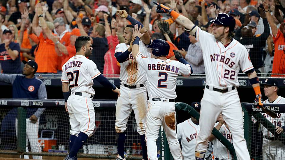 MLB playoffs Astros pound Yankees to force Game 7 in ALCS
