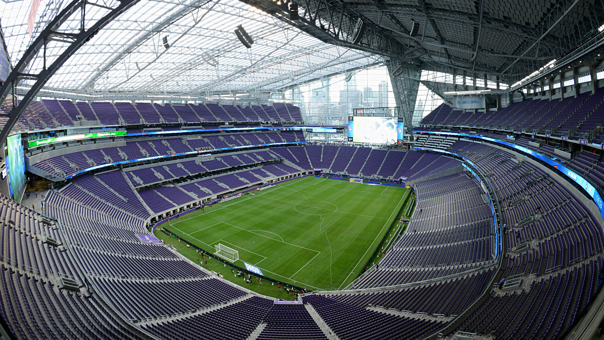 Exterior: Vikings' U.S. Bank Stadium Opens To Mostly Positive