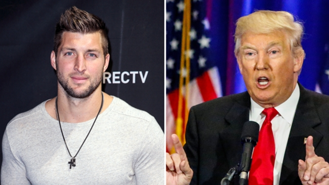 Tim Tebow-Donald Trump-071416-GETTY-FTR.jpg