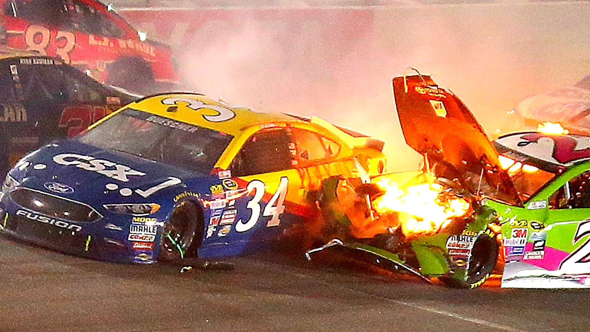 NASCAR playoffs begin with amped up aggression and attitude