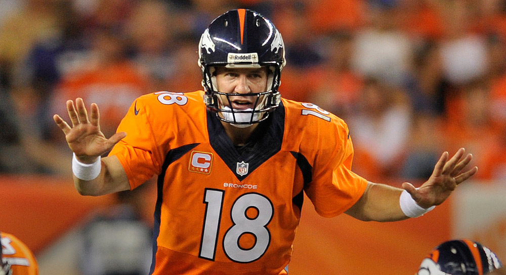 Fantasy Football Stock Watch: Broncos QB Peyton Manning