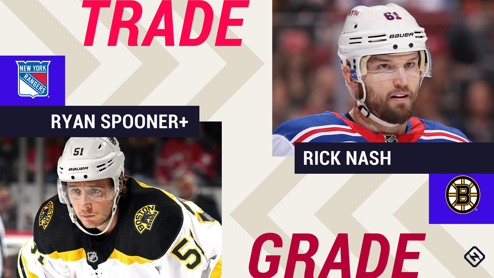 Rangers reach trade sending six-time All-Star Rick Nash to Bruins