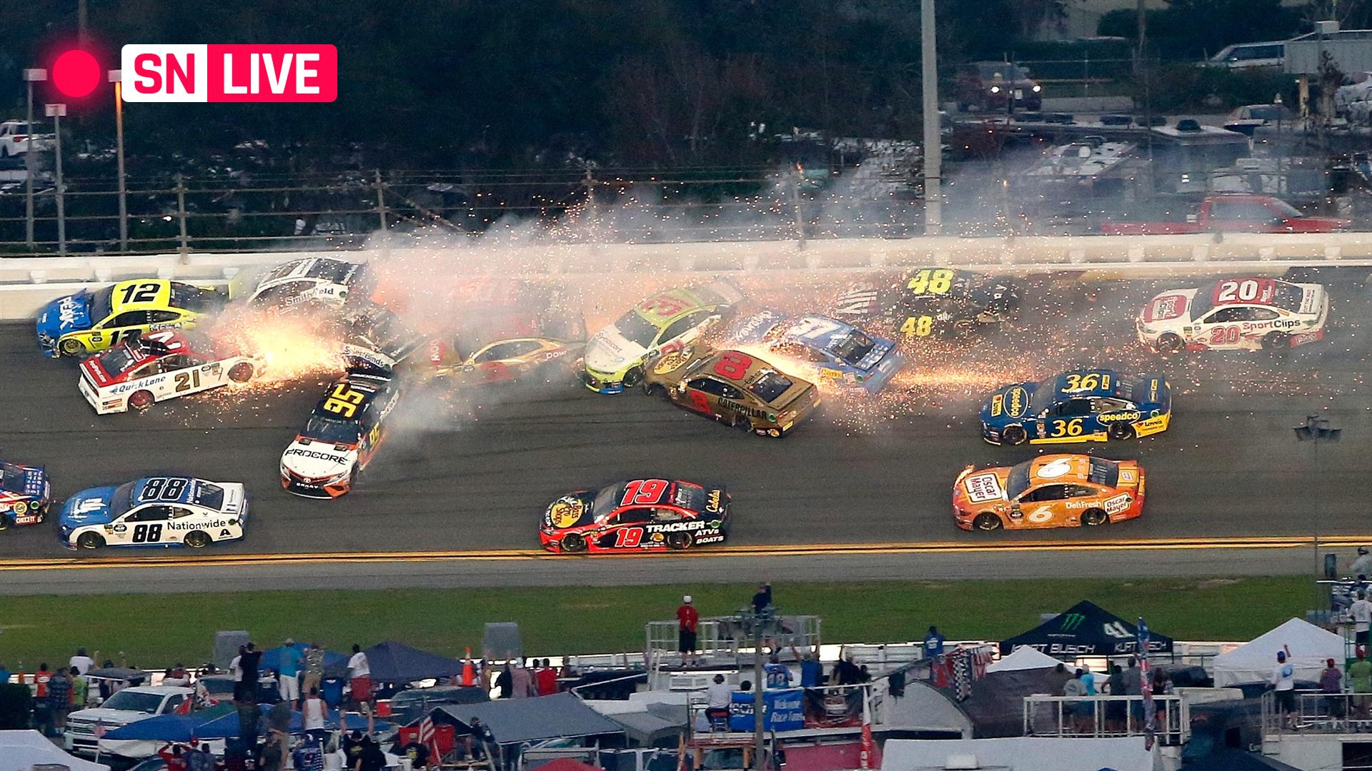 Daytona 500 results: Highlights from Denny Hamlin's ...
