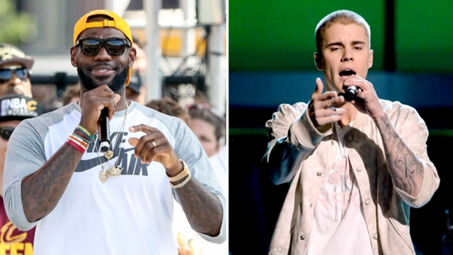 lebron james and justin bieber-072916-GETTY-FTR.jpg