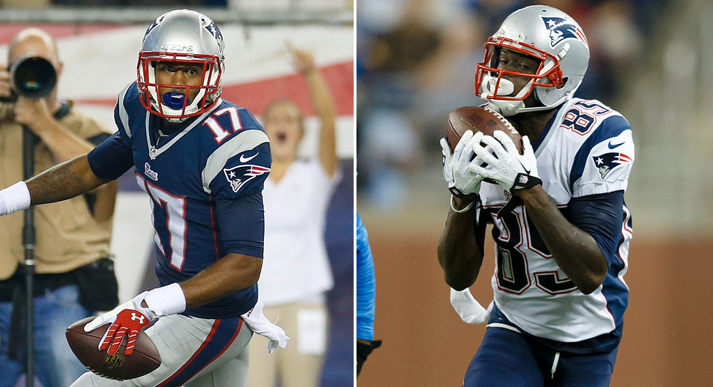 Fantasy Football Stock Watch: Patriots receivers