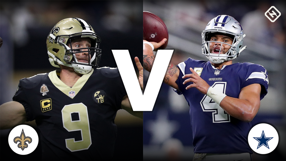Image result for saints vs cowboys