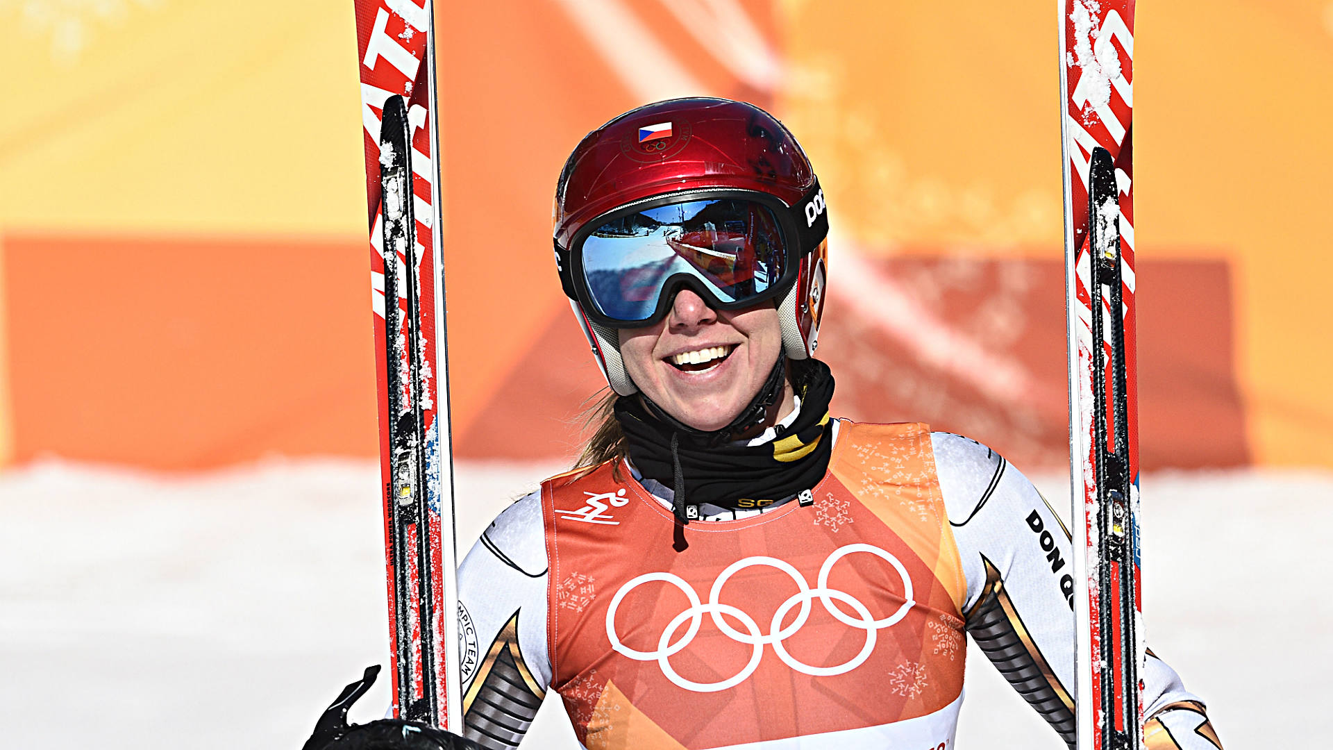 Shock ski gold plays havoc with Ledecka's day