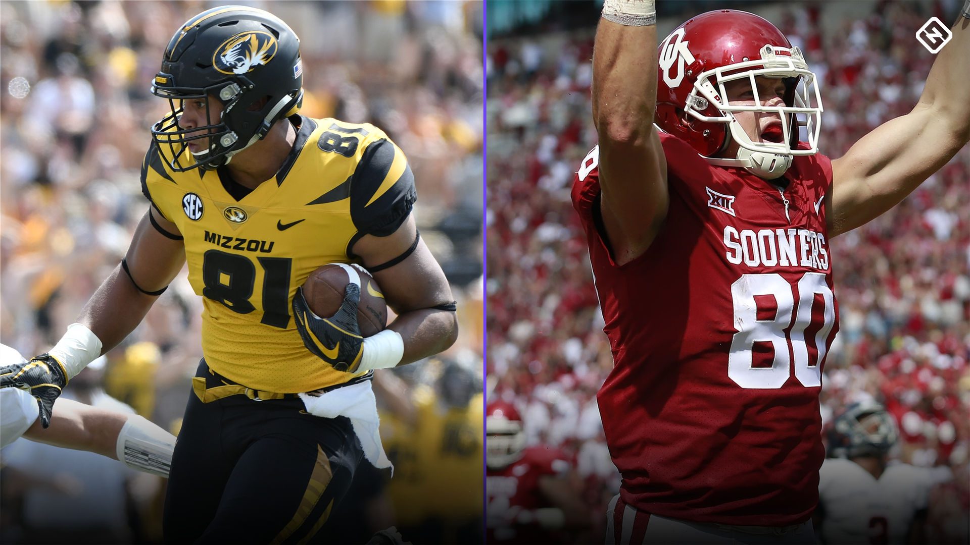 College Fantasy Football Rankings: Tight end