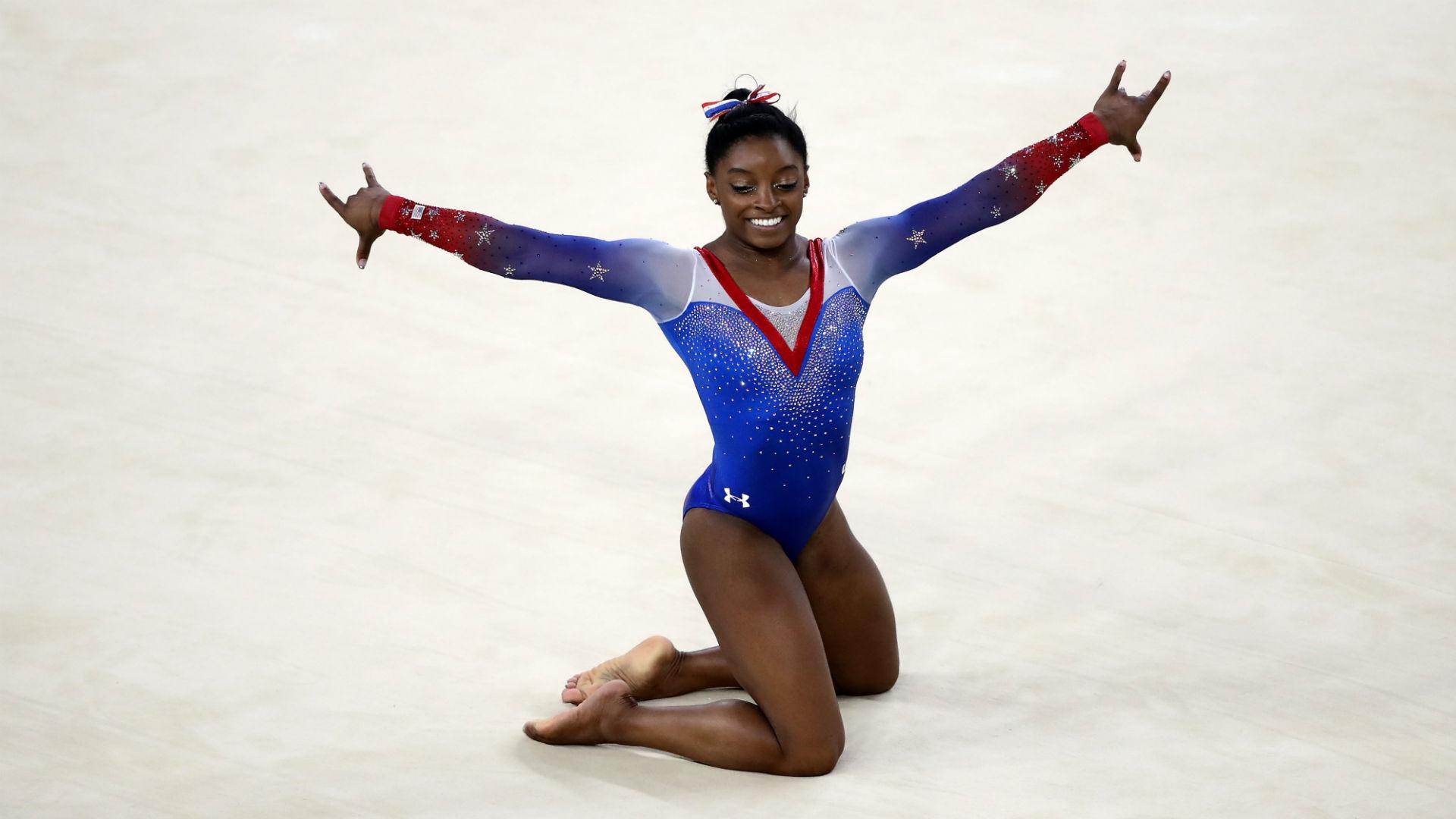 Rio Olympics Simone Biles wins floor exercise fourth gold