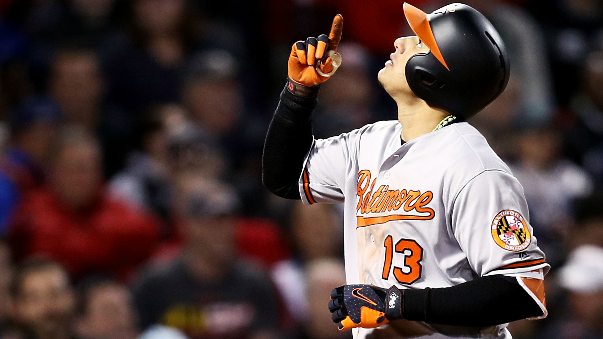 Manny Machado hits ball out of Fenway Park, takes ...