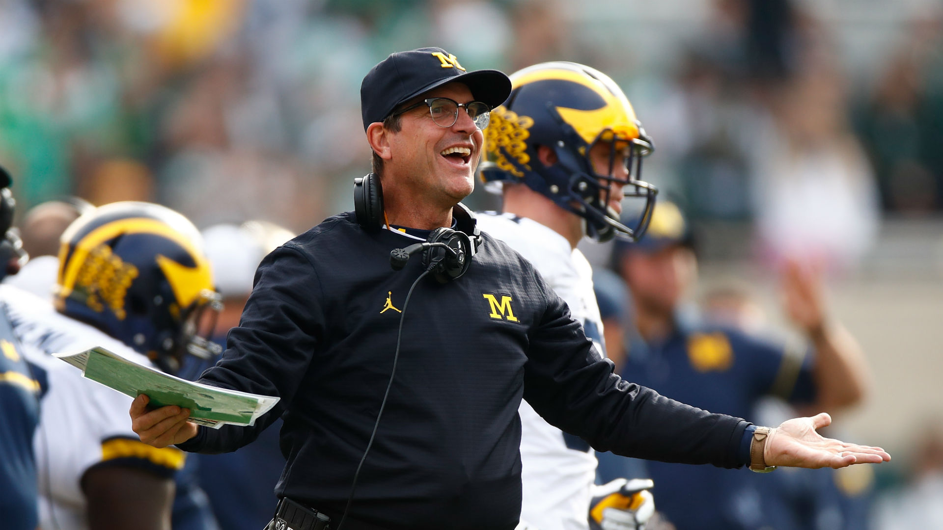 Jim Harbaugh welcomes seventh child to family