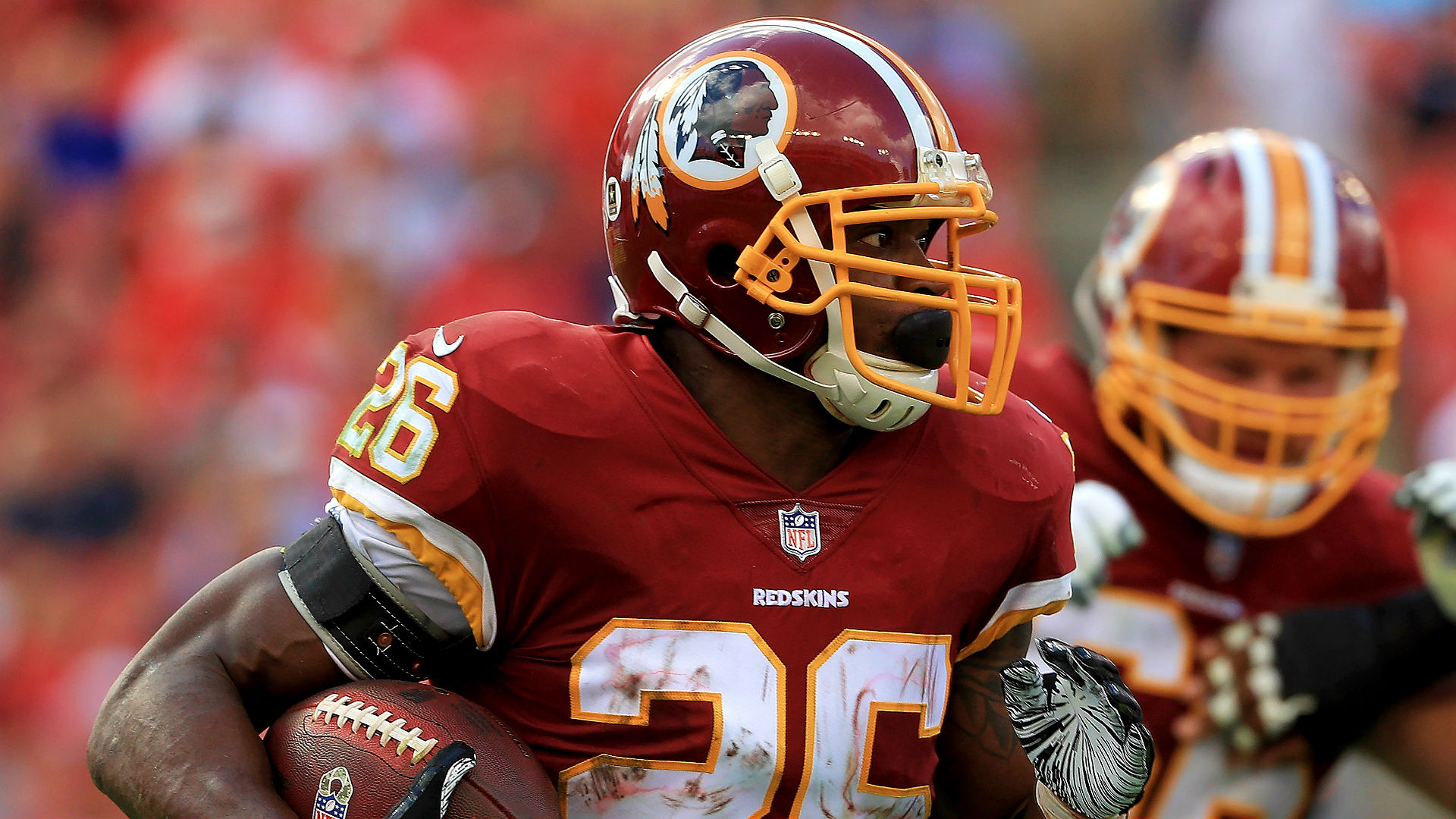 After Alex Smith's injury, Adrian Peterson is more vital to Washington than ever