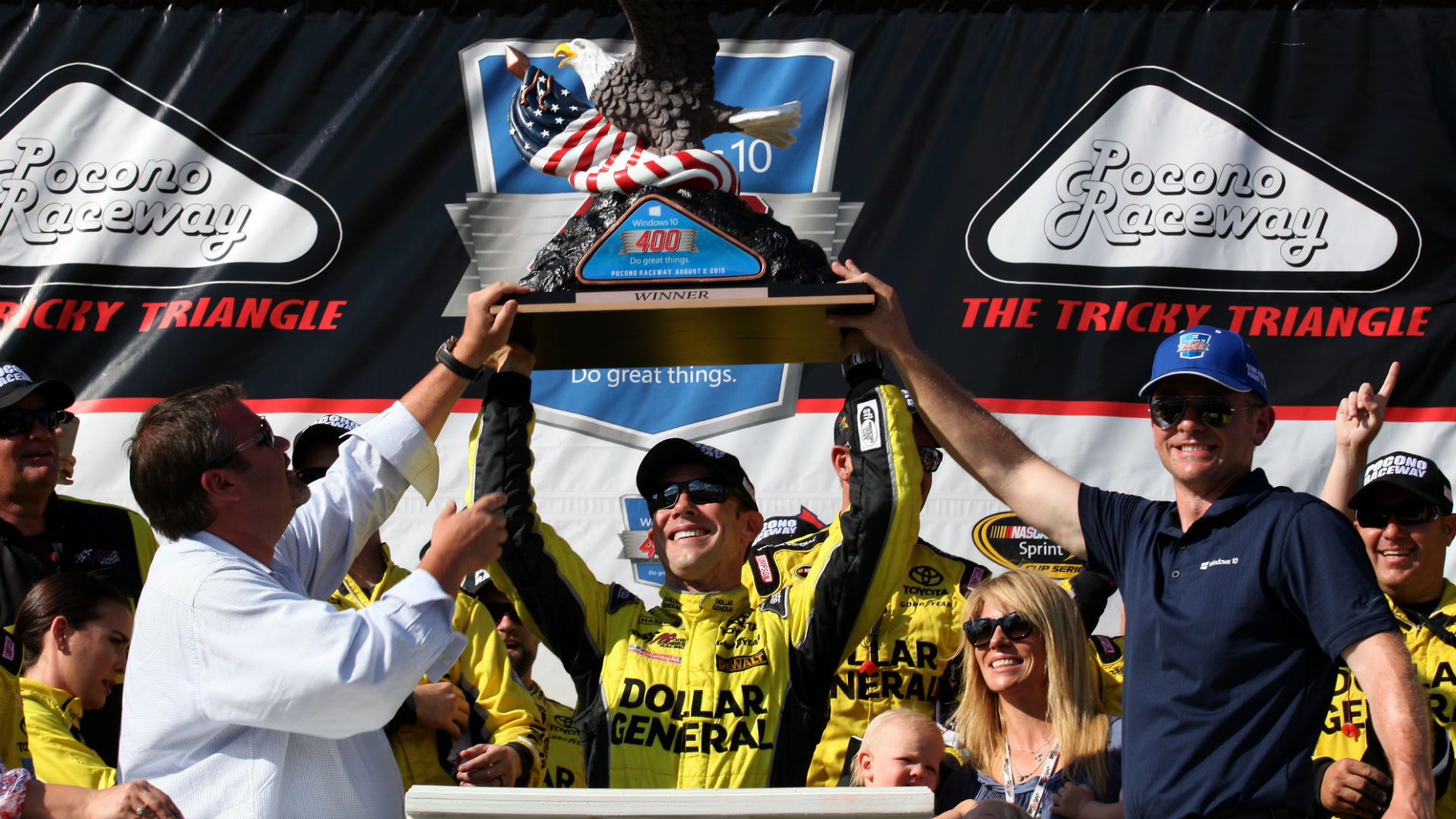 Strategy pays off big for Matt Kenseth at Pocono