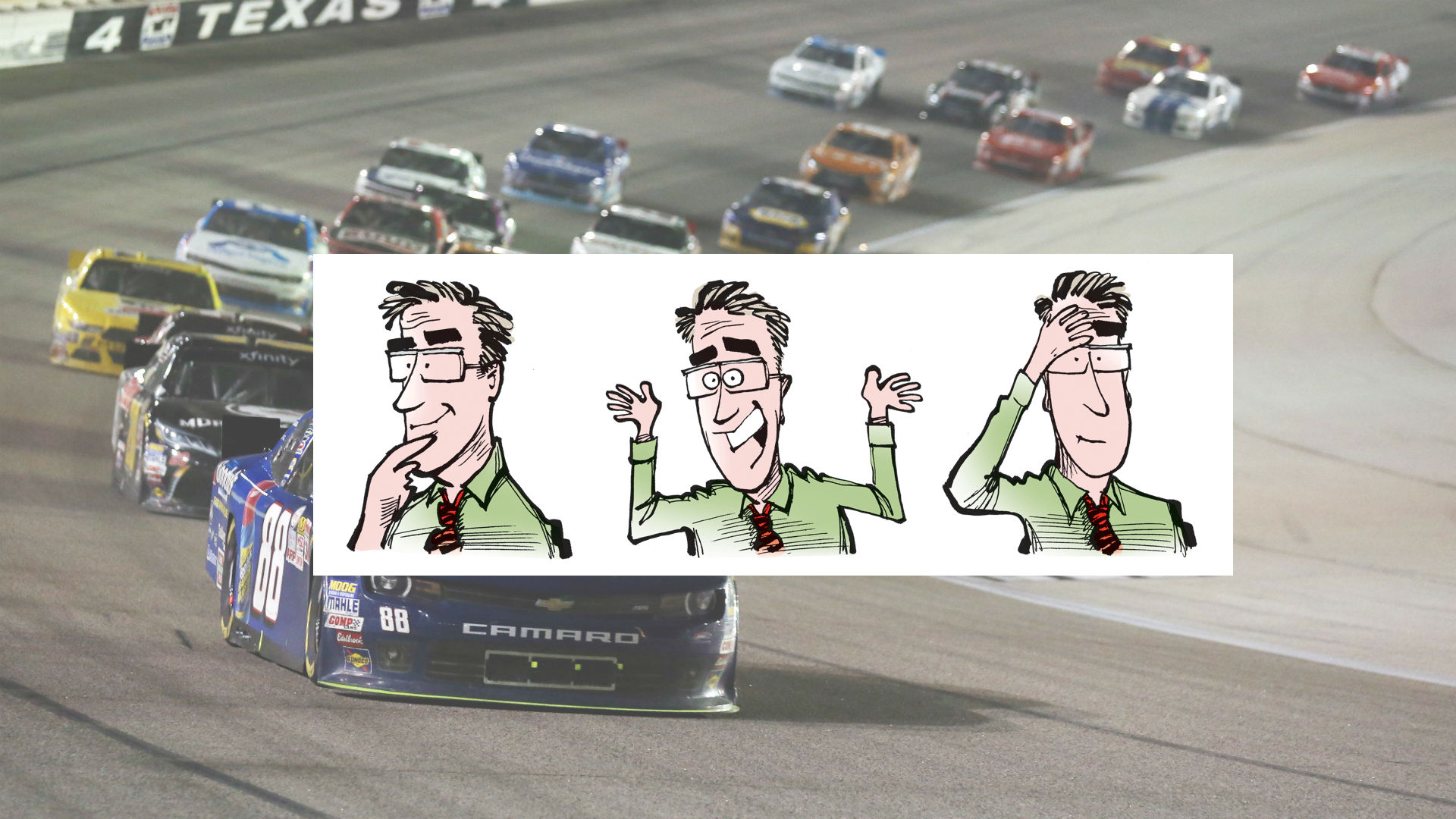 Q&A with Mike Smith of StockCartoons: From rental cars to Sprint Cup cars