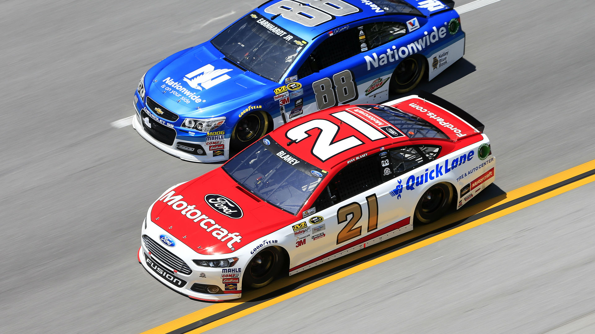 Ryan Blaney delivers top-five finish for Wood Brothers