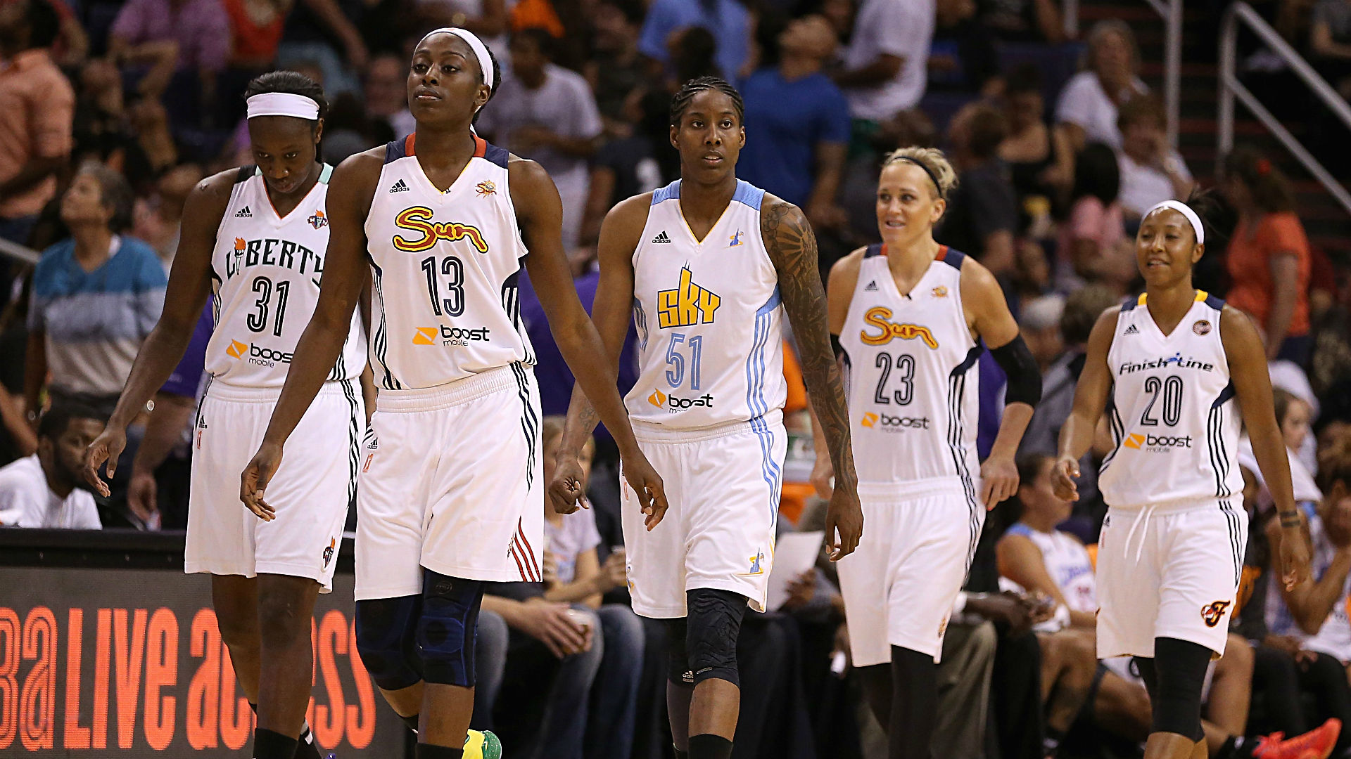 015de9987549b5 WNBA All-Star Game 2015  Time