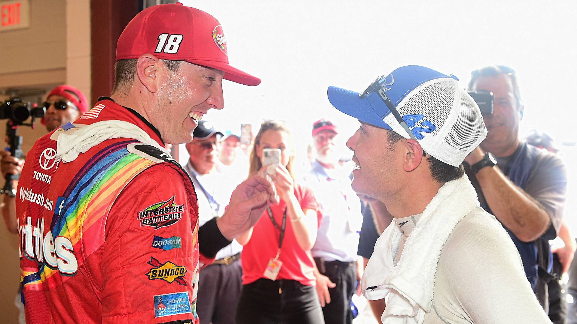 First win by Jones gives NASCAR a needed bump