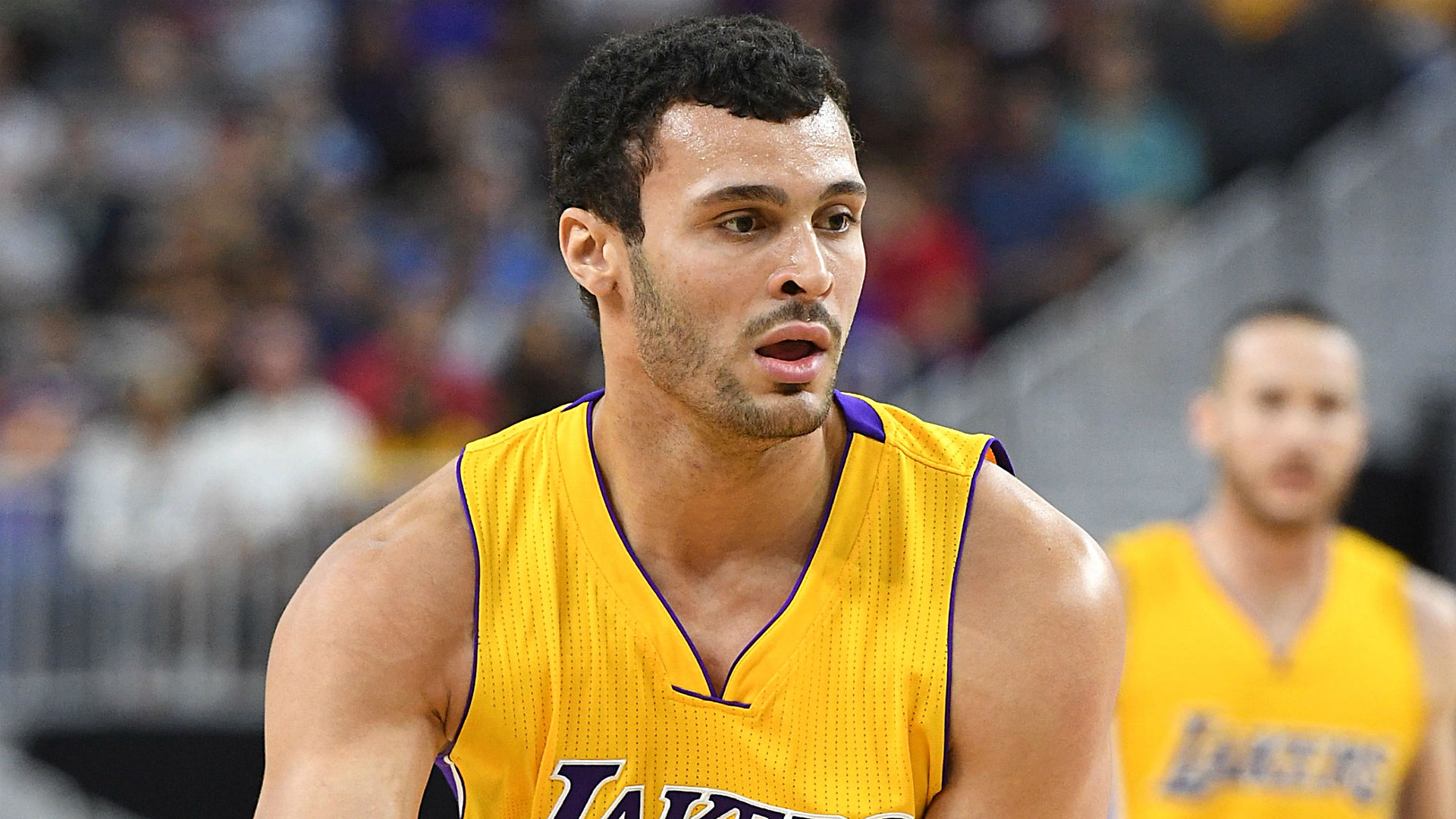 WATCH Lakers Larry Nance Jr touches the sky on dunk vs