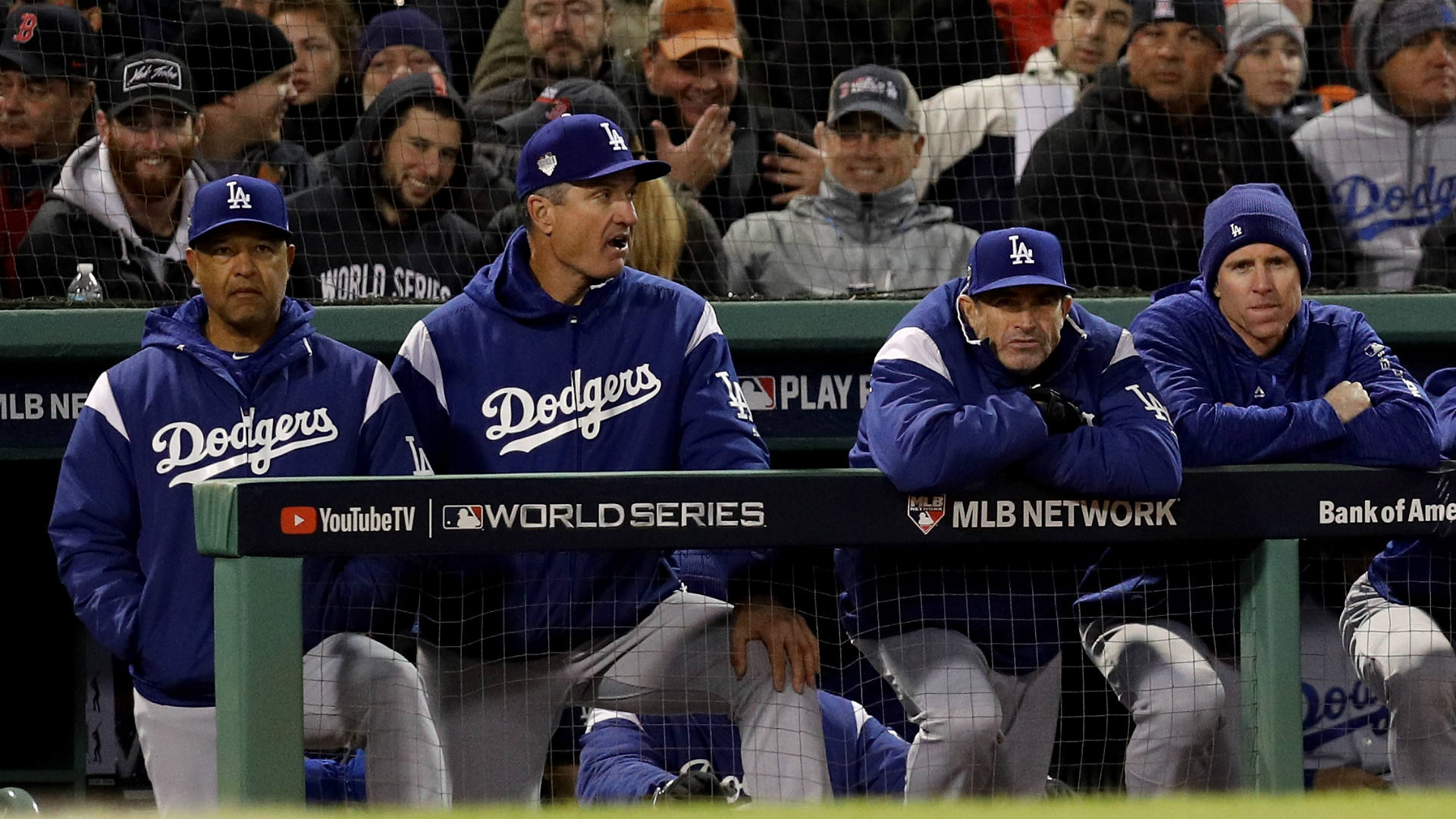 Dodgers collapse, Boston on brink of title after 9-6 win
