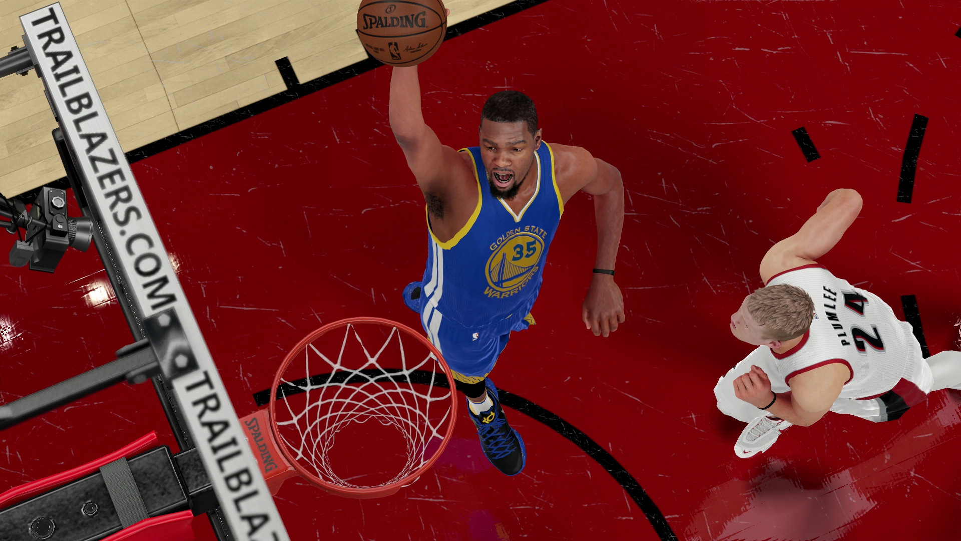 What Kevin Durant Would Mean To Warriors Examined Through Nba 2k16