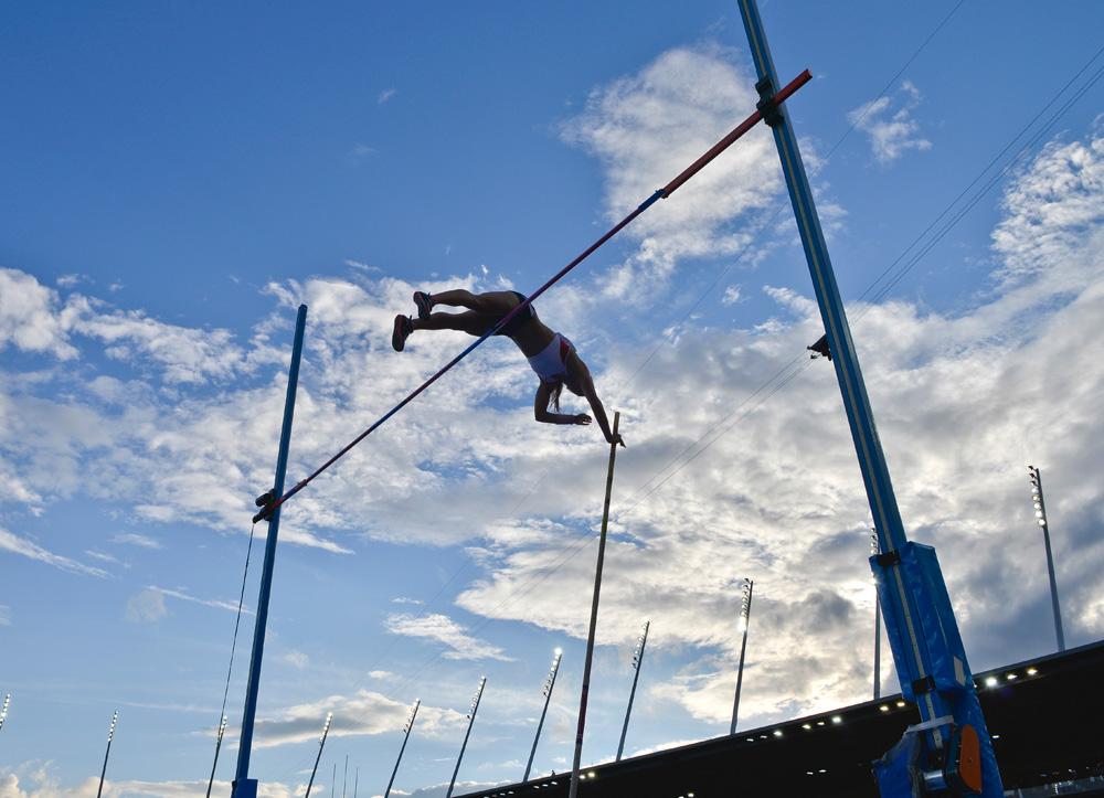 Women's pole vault