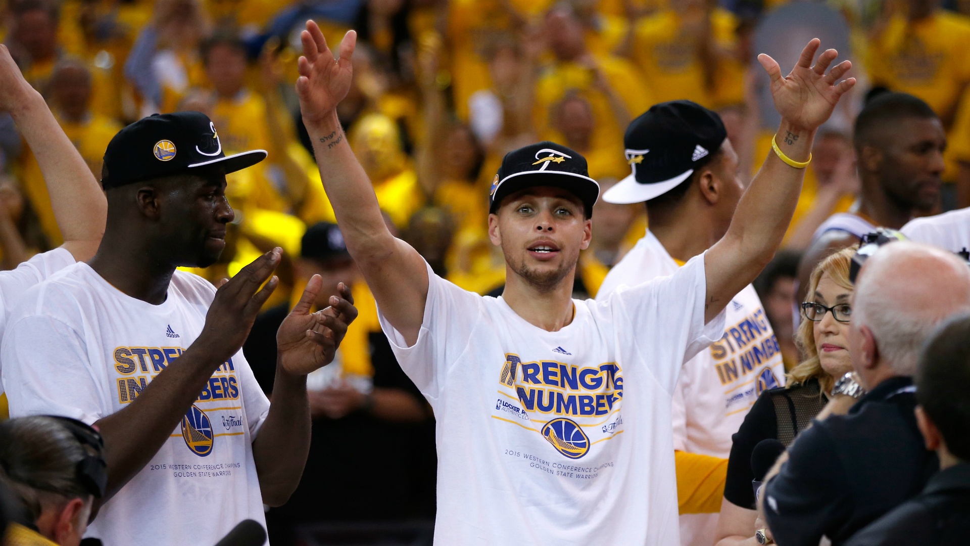 Stephen Curry's family grounds him even as 'it's surreal' for them