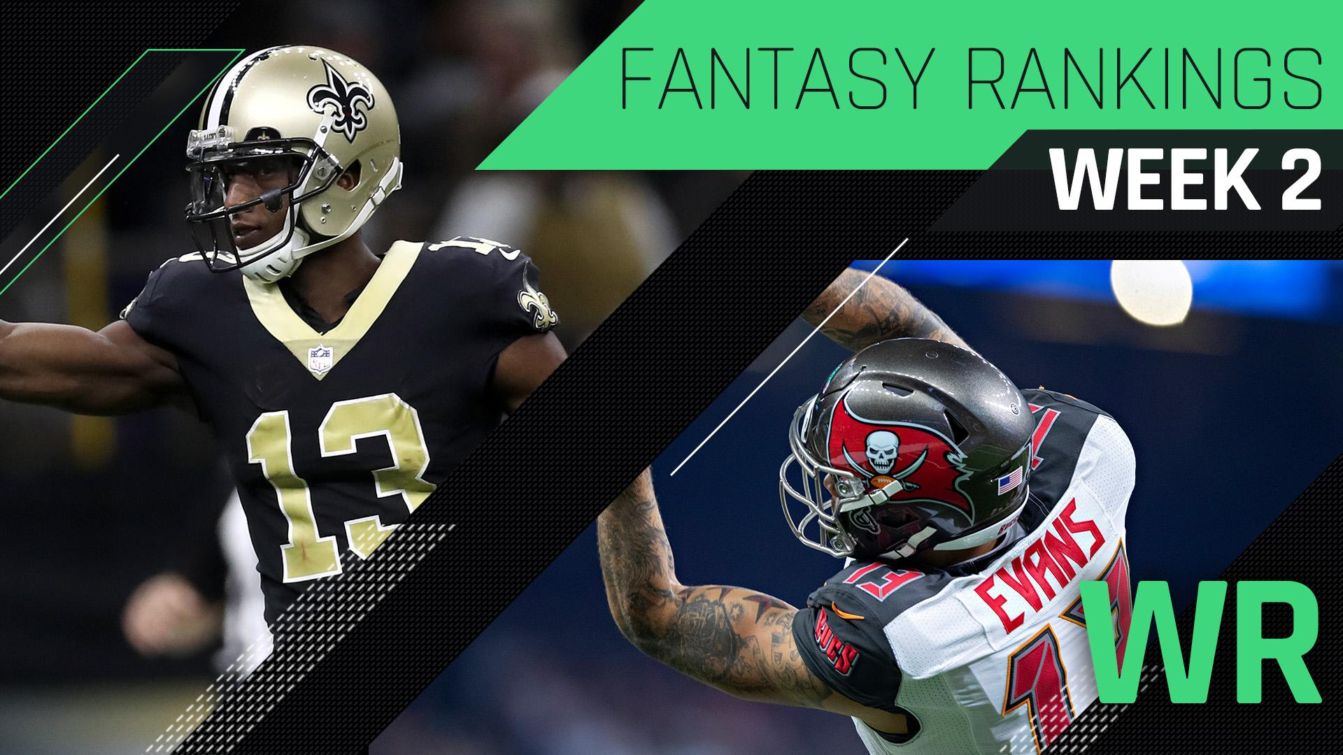 Week 2 Fantasy Rankings: Wide receiver