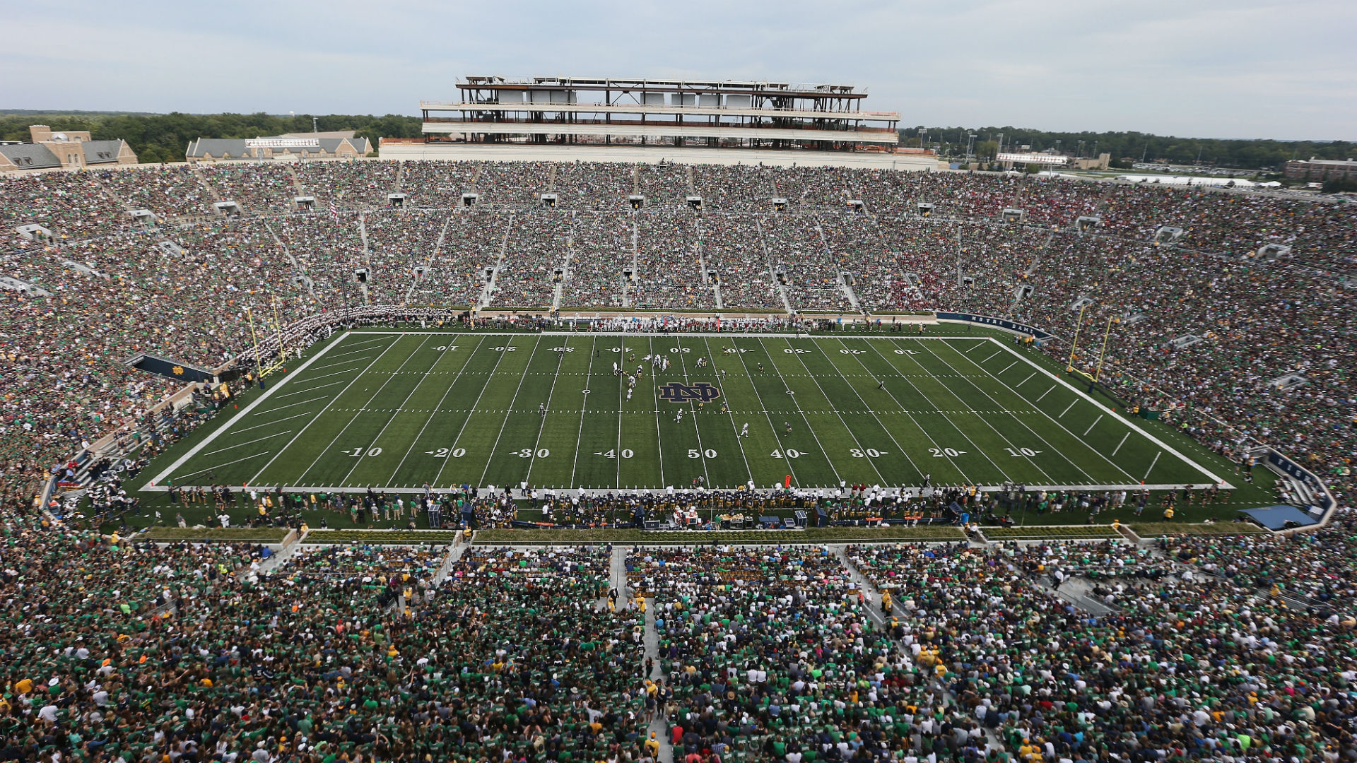Blackhawks, Bruins to Play 2019 Winter Classic at Notre Dame Stadium