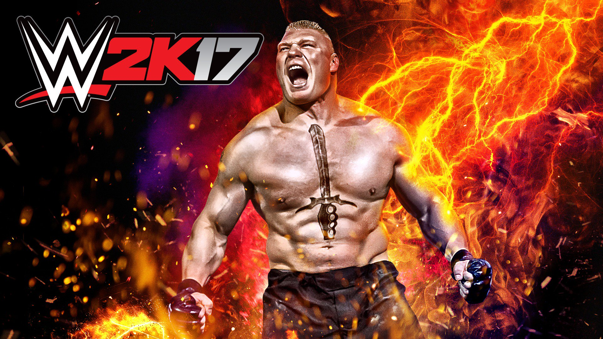 Brock Lesnars Big Year Continues As Hes Featured On The WWE 2K17 Cover