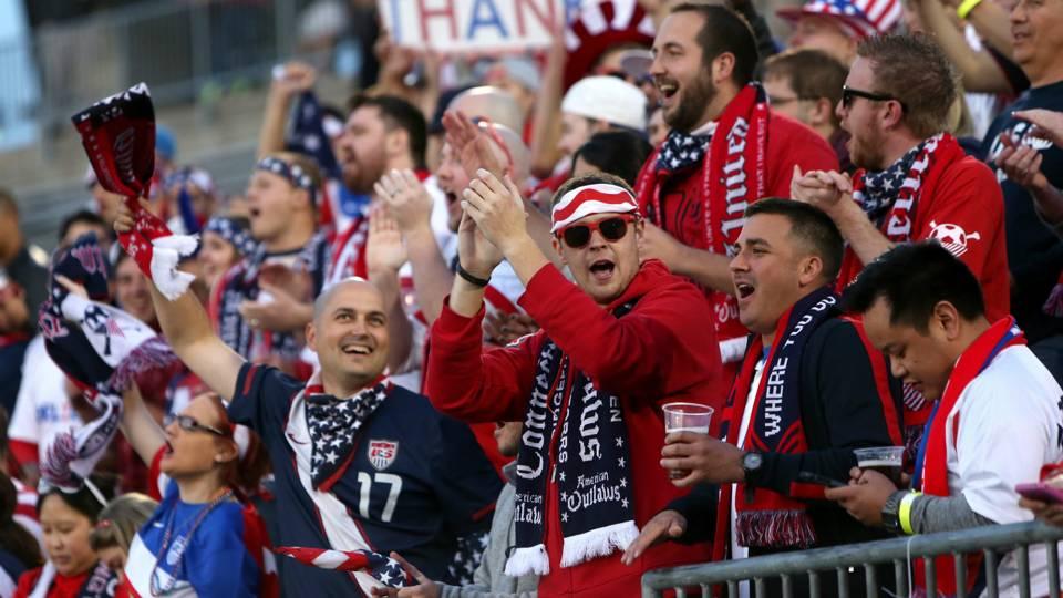 Usa Soccer Fans World Cup USA vs. Mexico World C...
