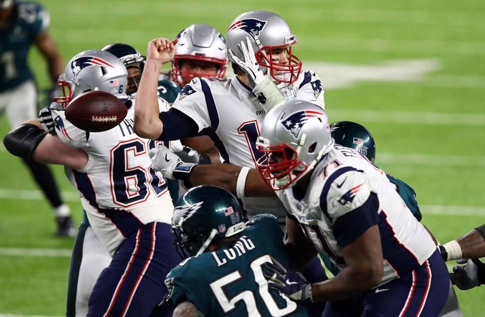 Patriots vs. Eagles