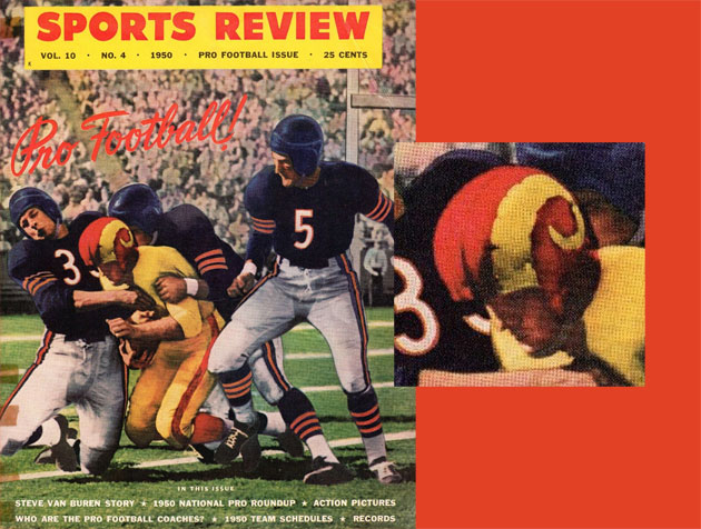 4e82f873d98 Supe's On: The History of the Rams Football Uniforms (1937-1972 ...