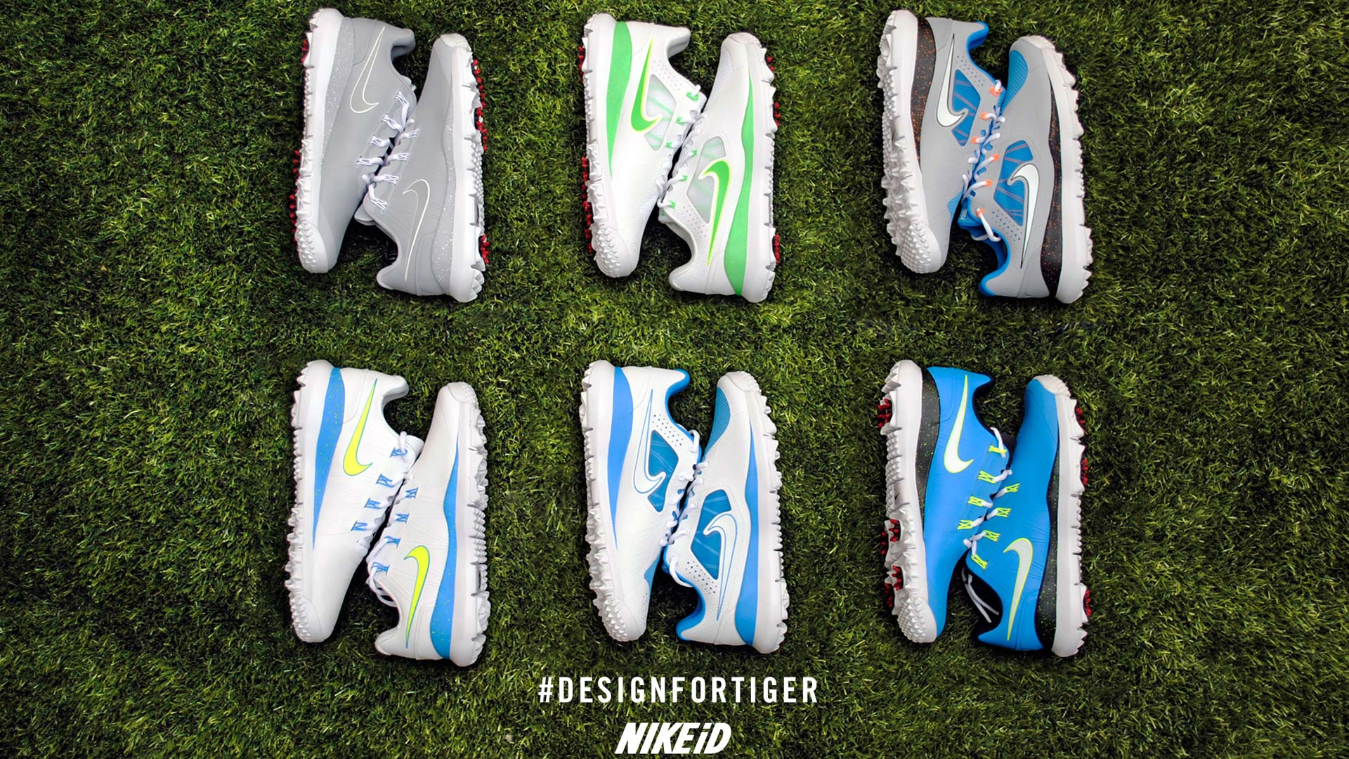 Want to design Tiger Woods' shoes? Now you can